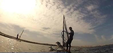 learn Windsurf Fuerteventura Lagoon